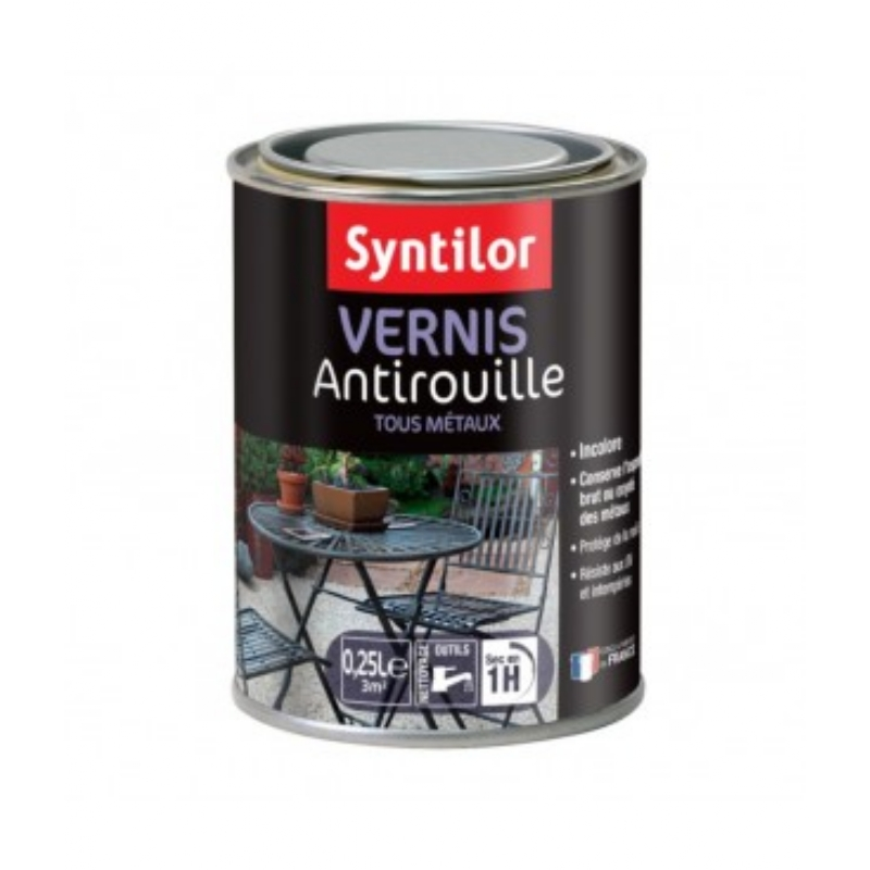 VERNIS ANTIROUILLE SATIN 250 ml