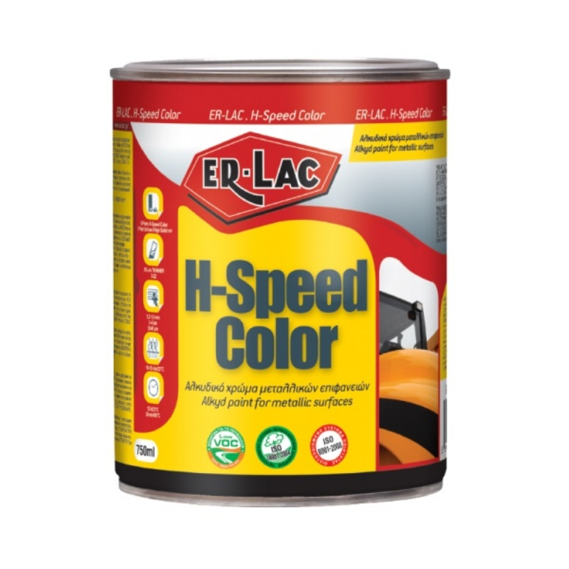 ER LAC HI SPEED RAL 9007 750 ml