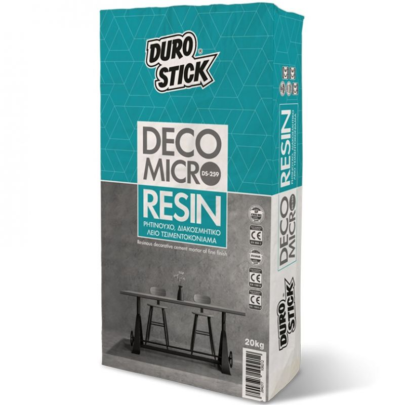 DS 259 DECO MICRO RESIN ΛΕΥΚΗ 20 kg